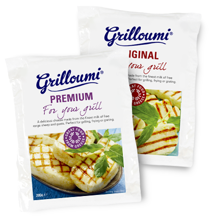 Grilloumi the greek grill cheese
